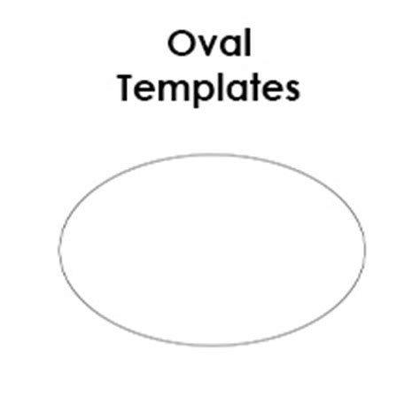 oval shape template printable oval templates blank shape templates free printable pdf