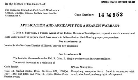 Fbi Search Warrant Database Fbi Raids Two Homes With Photo Leak Implications Makes No Arrest