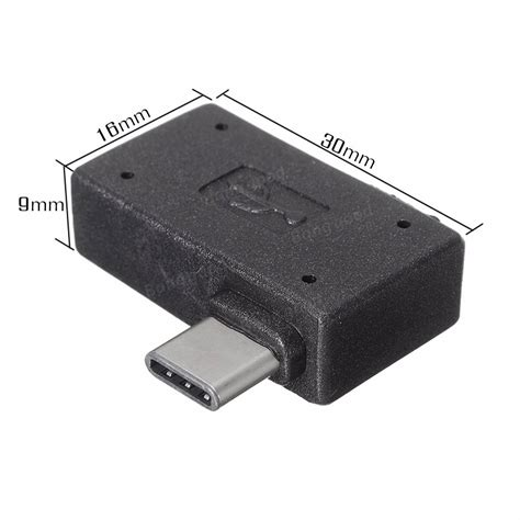Converter Usb To Usb 20 To Usb Type 20 812 right angle usb c type c to usb 2 0 otg adapter