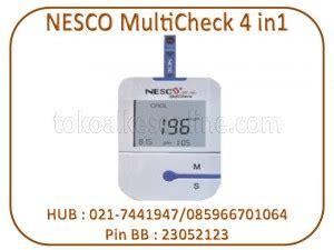 Daftar Nesco Multicheck nesco multicheck 4 in1 gcuhb toko alat kesehatan
