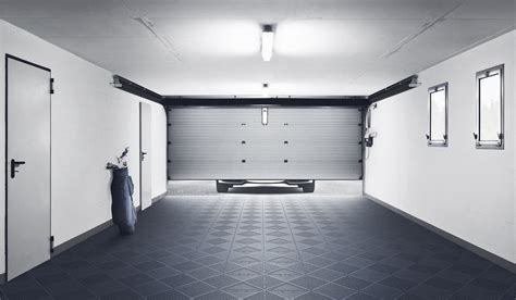 Floor tiles developed for the home   Garage, storage