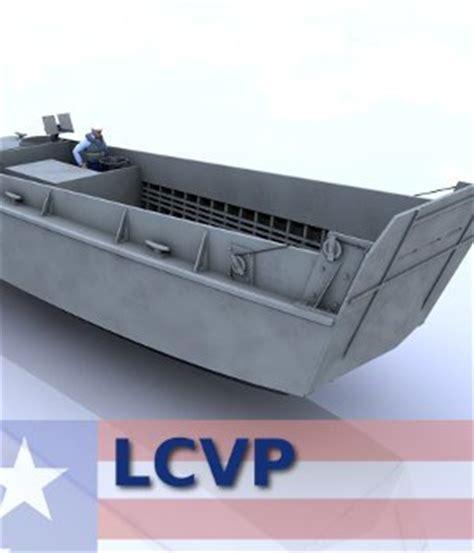 lcm 3 landing craft medium 3 props for poser