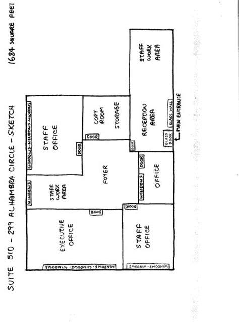 2000 square foot floor plans floor plans for 1001 to 2000 square miami office space miami office building rental