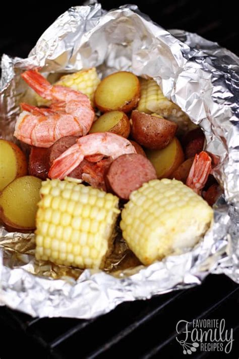 cajun style grill foil packets favorite family recipe