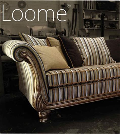 Striped Fabric Sofas Uk by Loome The Mobberley Collection Chenille Fabric
