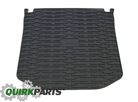 Jeep Cargo Mat Grand 2011 2017 Jeep Grand Cargo Mat Tray Liner Rear