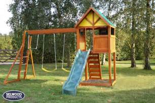 how to build a climbing frame with swing and slide burghley climbing frame slide and swing set