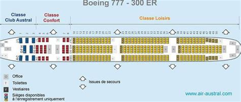 boeing 777 300er sieges places 224 bord d un boeing 777 300er r 233 union voyage forum