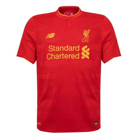 liverpool kit new liverpool kit liverpool fc shirt uksoccershop lfc launch new home kit for 2016 17 anfield online