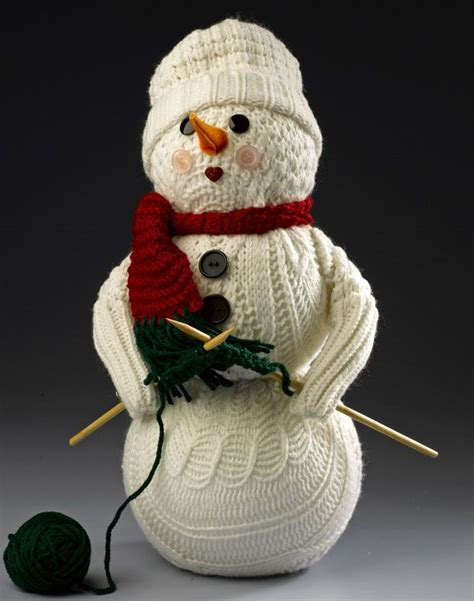 sweater snowman repurpose old socks sweaters and more