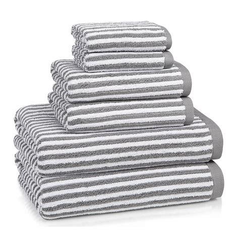 grey patterned bathroom rug bath towels grey linea turkish cotton striped pattern