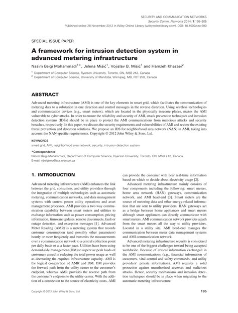 intrusion detection system research paper research paper on intrusion detection system a framework