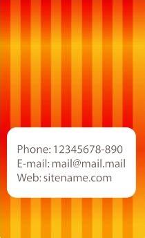 template kartu nama gratis corel draw download desain kartu nama 45 free template