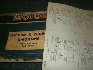 1970 1974 Pontiac Firebird Lemans Gto Wiring Diagrams