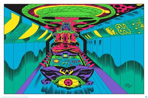 jack kirby lord of light prints jack kirby poster preview check out these 8 black light