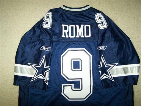 replica blue tony romo 9 jersey valuable p 248 9 tony romo dallas cowboys nfl qb blue throwback jersey