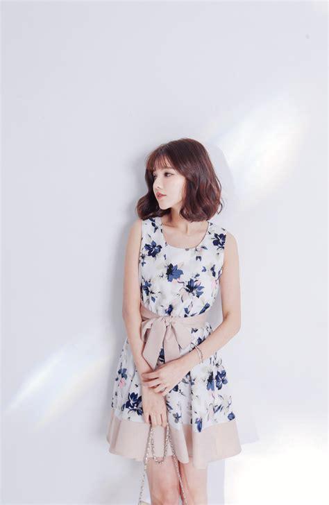 Dress Mayuki mayuki womens tie waist skater dress in floral print
