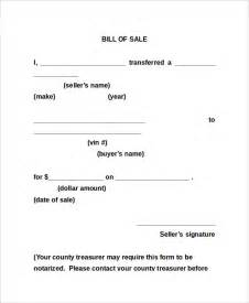 bill of sale form 13 free word pdf documents download