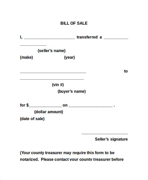 Bill Of Sale Form 13 Free Word Pdf Documents Download Free Premium Templates Generic Bill Of Sale Template Free