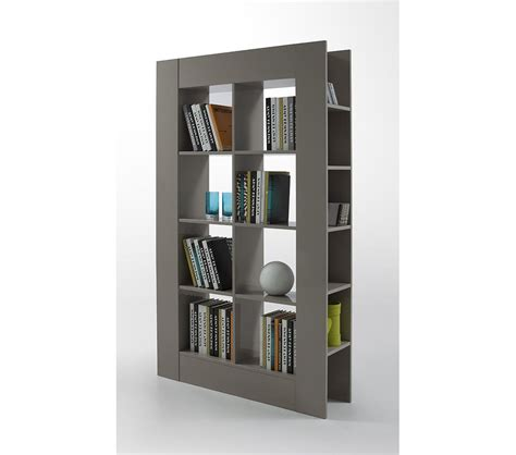 Dreamfurniture Com Modern Grey Lacquer Room Divider Contemporary Room Dividers
