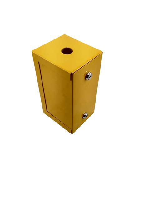 sharps disposal metal container  litre lockable hospeco australia