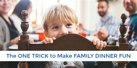 One Simple Trick To Make - 6 easy ways to make time for a family meal the