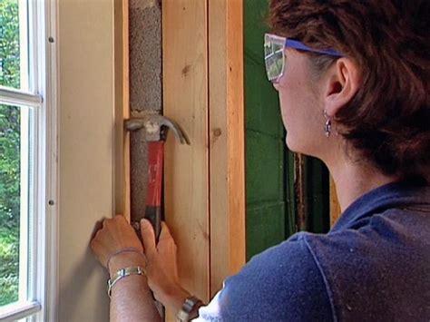 How To Seal A Front Door How To Install A Pre Hung Exterior Door How Tos Diy