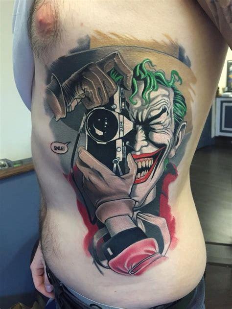 joker tattoo review 8 crazy joker tattoos that aren t heath ledger tattoodo