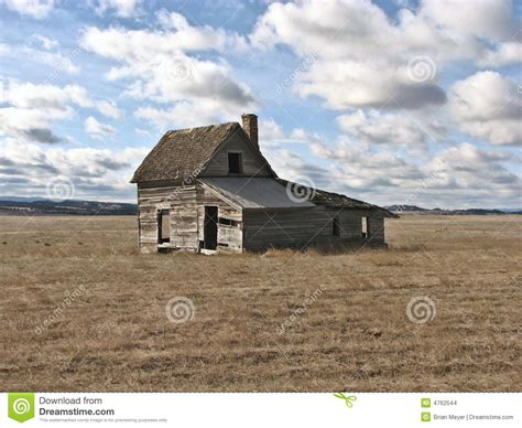 House On The Prarie by House On The Prairie Stock Images Image 4762544