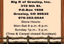 big   greeley colorado  farm  ranch supplystorepainttoolsgroceriesplumbing