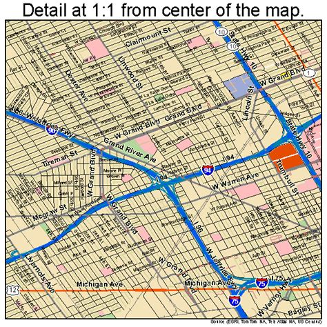 map of detroit michigan lawndale ca pictures posters news and on your