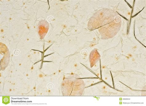 How To Make Handmade Paper With Flower Petals - closeup of handmade paper texture background with petals