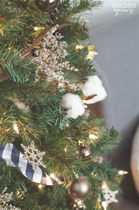 cotton christmas tree 2014 home tour the golden sycamore
