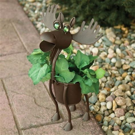 Moose Planter by Moose Planter Images