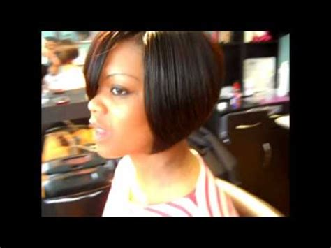 you tub swing hair styles 3d part bob hairstyle swing bob quickweave sty youtube