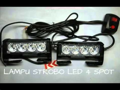 Lu Led Strobo Mobil lu strobo led grill mobil 7 mode federal signal funnydog tv
