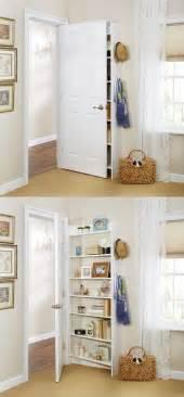 door shelving racks best 25 door storage ideas on broom