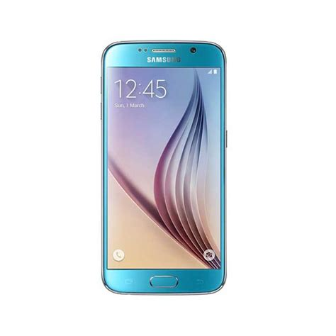 Samsung Galaxy S6 G920 Blue buy samsung galaxy s6 g920 32gb blue topaz itshop ae
