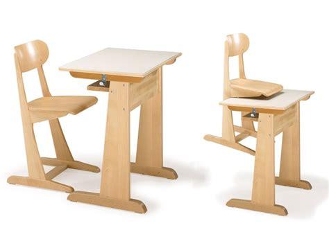 sillas para aulas silla y escritorio hecho de madera de haya para el