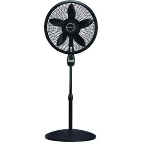 floor standing fans with remote lasko adjustable height 18 in oscillating pedestal fan