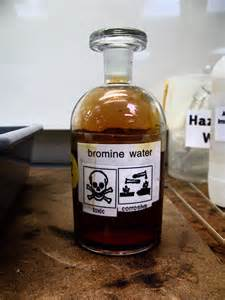 bromine color file bromine water jpg wikimedia commons