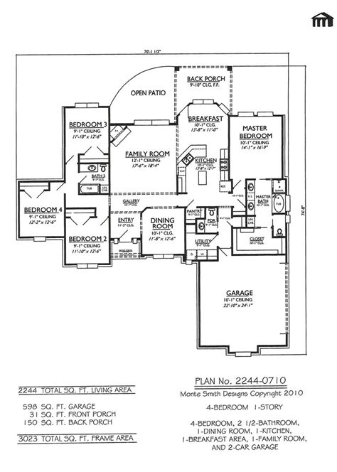 4 bedroom single story house plans 4 bedroom 1 story house plans ahscgscom luxamcc