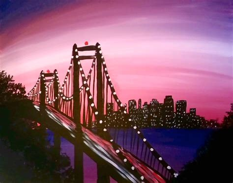 spray paint portland or learn to paint bay bridge lights
