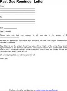 past due letter template past due letter template for excel pdf and word