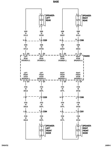 2004 dodge ram infinity radio wiring diagram efcaviation