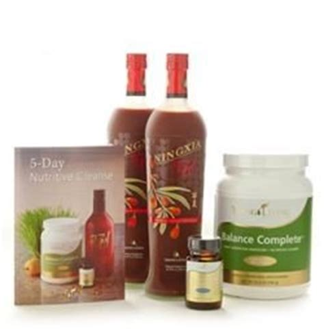 Ningxia Detox by 5 Day Nutritive Cleanse By Living