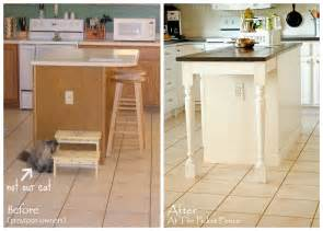 how to add a kitchen island my kitchen island transformation part one at the