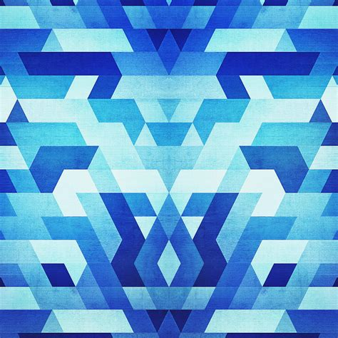 abstract geometric pattern blue abstract geometric triangle pattern futuristic future