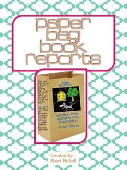 paper bag book reports book reports paper bag book report beyond the