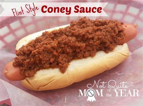 coney island sauce flint style coney sauce food mmmmm